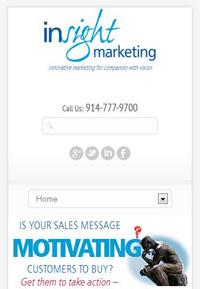InSight Marketing's responsive design