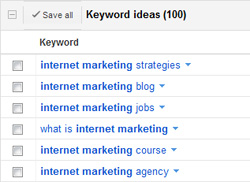 Identify relevant phrases customers use to find you in search engines.