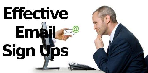 build newsletter subscription list